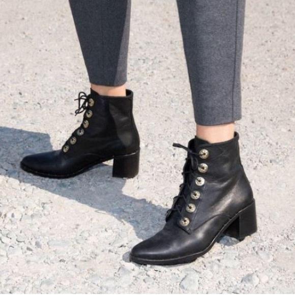 Freda Salvador Ace Lace Up Boot   Poshmark